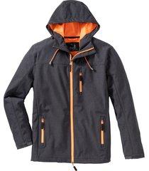 giacca in softshell con dettagli a contrasto (grigio) - bpc bonprix collection