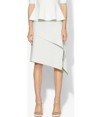 proenza schouler pointelle knit skirt off white/mint m