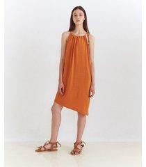 vestido naranja desiderata aruba