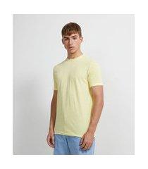 camiseta manga curta em algodão | ripping | amarelo | g