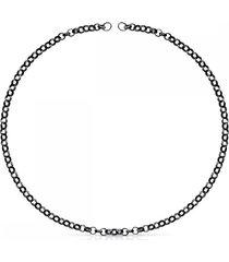 cadena hold de plata dark silver 812342500