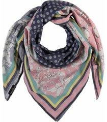fraas patchwork floral scarf