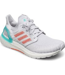 ultraboost 20 primeblue w shoes sport shoes running shoes grå adidas performance