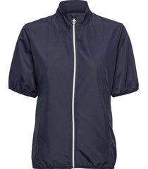 mia ss wind jacket outerwear sport jackets blå daily sports
