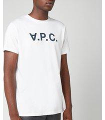 a.p.c. men's vpc t-shirt - white - xl
