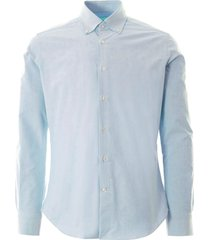 oxford shirt - blue pale notaral-blu