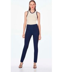 calca leboh jegging cos alto basica jeans jeans - jeans - feminino - dafiti