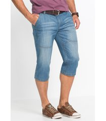 regular fit 3/4 jeans, tapered