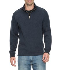 men's rodd & gunn alton ave regular fit pullover sweatshirt, size xx-large - blue