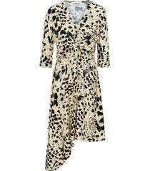 klänning palma dress, leopardmönstrad