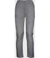 pantalon softshell termico gris andesland
