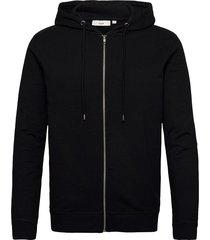 ville hoodie trui zwart minimum