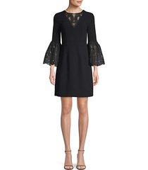 luciana bell sleeve dress