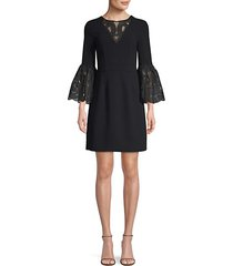luciana bell sleeve dress
