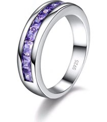 anillo mujer zirconio violeta r1340