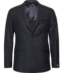 structure jacket blazer colbert blauw morris
