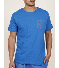 t-shirt korte mouw admas for men flamingo diver t-shirt korte mouw blauw admas
