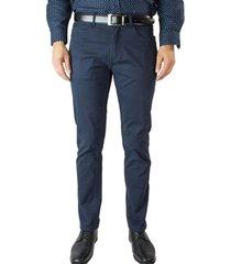 pantalon gabardina bolsillo chino vestir perfect fit mcgregor