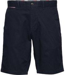 brooklyn short light twill bermudashorts shorts blå tommy hilfiger