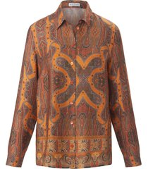 blouse lange mouwen van portray berlin oranje