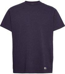 arkk box logo tee maritime blue t-shirts short-sleeved blå arkk copenhagen