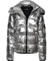 jsmithsilver jacket gevoerd jack zilver diesel