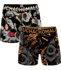 muchachomalo 2 stuks cotton stretch gangster rap boxer
