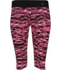 leggins deportivo estampado color rosado, talla xs