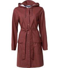 blazer rains belt jacket