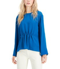 alfani cinched-front top, created for macy's