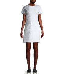 marc new york performance women's tie-dye t-shirt dress - denim combo - size xl