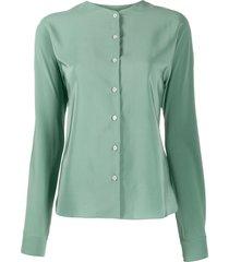 aspesi tunic blouse - green