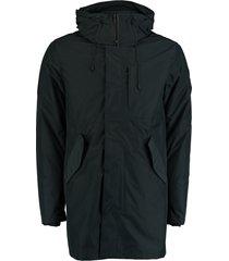 bos bright blue parka jacket inner jacket 20301ke17sb/290 navy