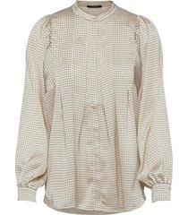 acacia eadie shirt blouse lange mouwen crème bruuns bazaar