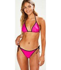 hunkemöller haze tanga-bikiniunderdel rosa