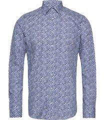 8573 - iver skjorta casual blå sand
