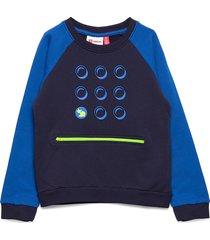 lwsolar 102 - sweatshirt sweat-shirt tröja blå lego wear