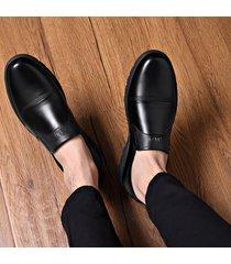 zapatos de hombre mocasines vestir de cuero pu para hombres zapatos oxford
