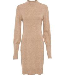 abito in maglia con maniche a palloncino (beige) - bodyflirt