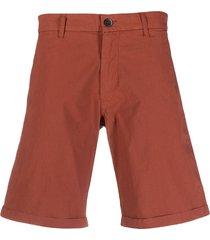 barena straight-leg chino shorts - brown