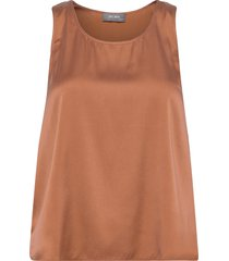 astrid silk tank top t-shirts & tops sleeveless orange mos mosh
