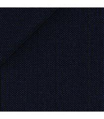 pantaloni da uomo su misura, vitale barberis canonico, 2-ply blu armaturati, primavera estate