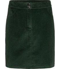 stefanie skirt kort kjol grön modström