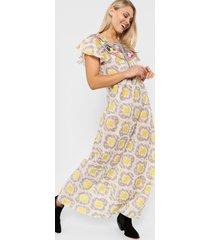 vestido amarillo sophya africa