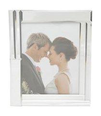 porta retrato de vidro espelhado para foto 20x25cm prestige