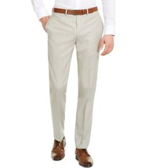 calvin klein men's x-fit slim-fit infinite stretch suit separate pants