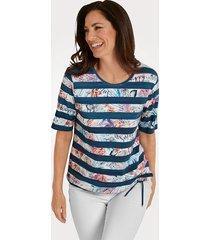 shirt rabe marine::wit::koraal