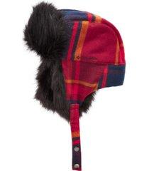 columbia men's arctic tundra faux fur trapper hat