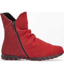scarponcini comodi in pelle (rosso) - bpc selection