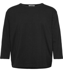 hit tee t-shirts long-sleeved svart hope